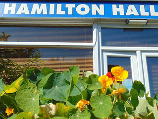 busy summer at hamilton hall