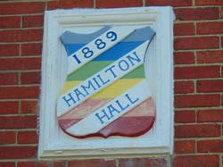 Hamilton Hall plaque