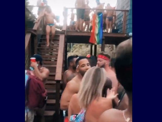 Outrage in NYC as hundreds of gay men flaunt COVID precautions to party on Fire Island.