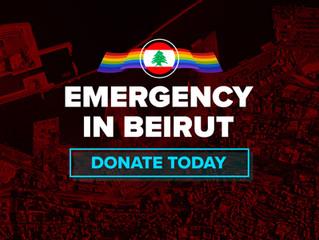 EMERGENCY IN BEIRUT
