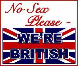 No sex please, we're British.