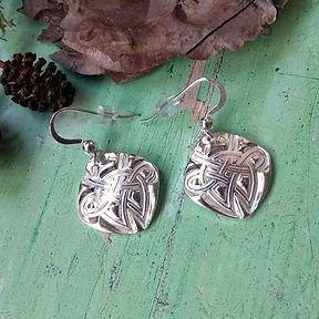 Silver Celtic Stag Earrings.jpeg