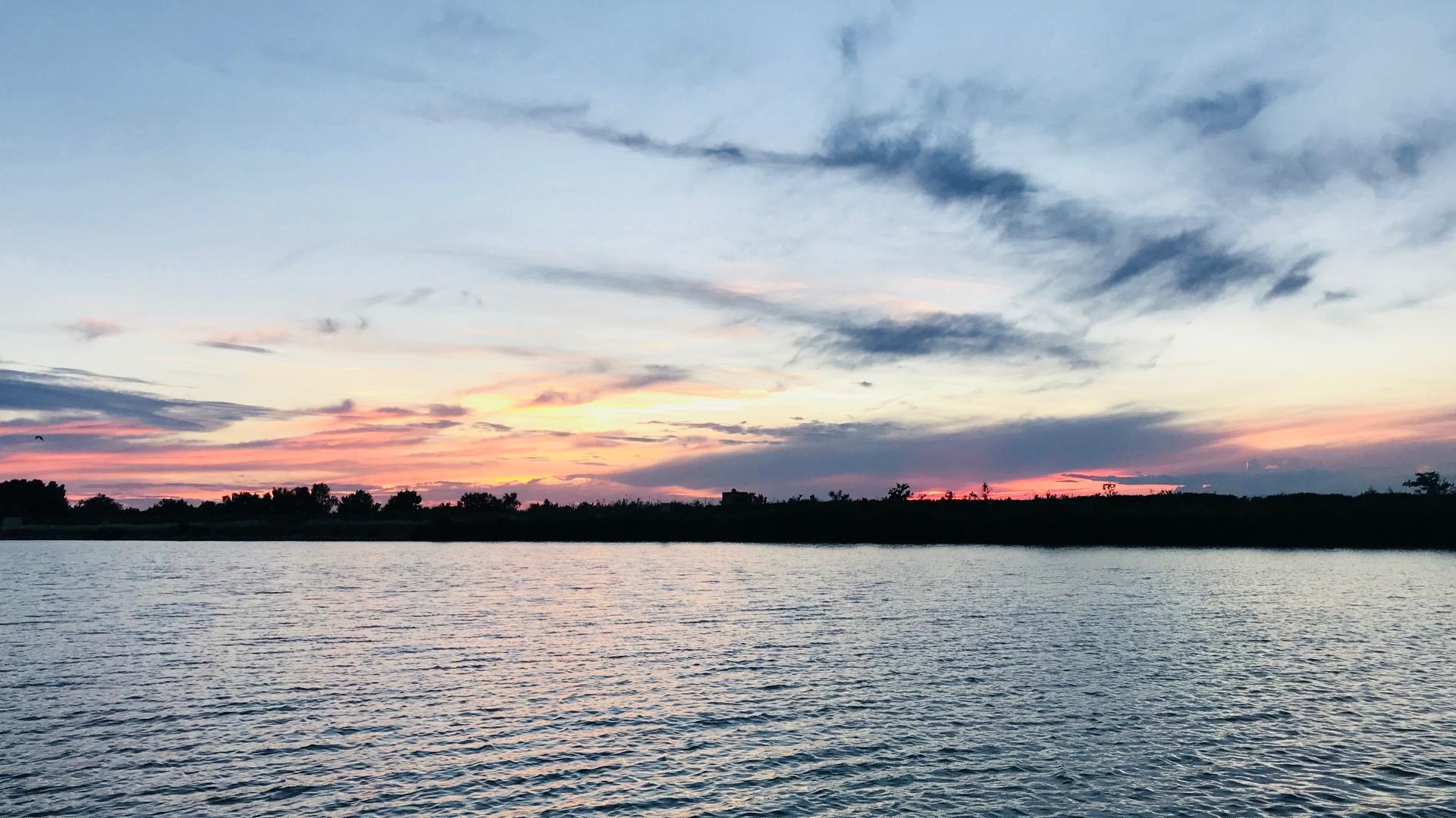 Soirée coucher de soleil