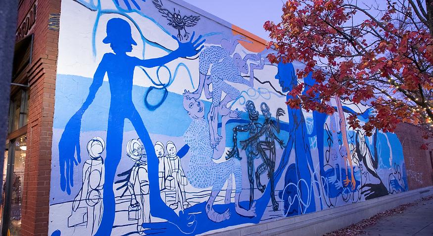 William Dows mural