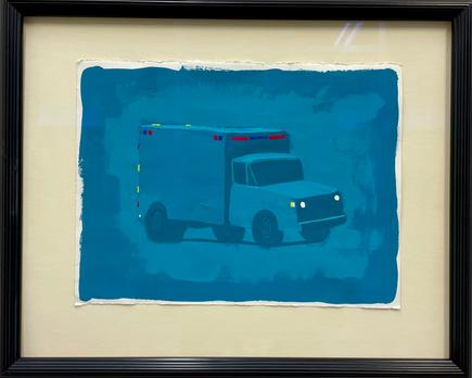 Ambulance (Color Study), 2015