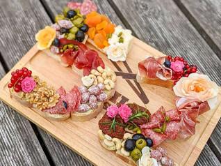 Grazing Platter als Geburtstagsgeschenk