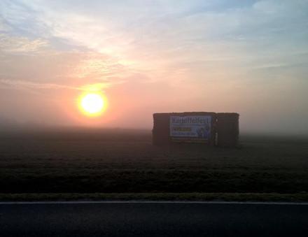 Sonnenaufgang vor dem Ansturm