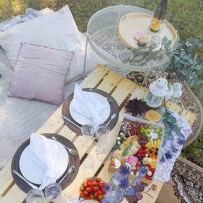Pop-up Picknick für zwei