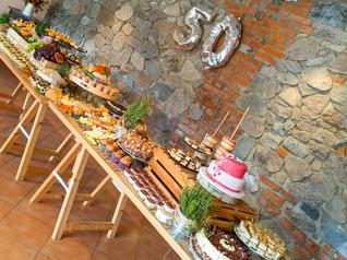 Grazing Table zum 50. Geburtstag
