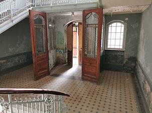 Treppenhaus der Beelitzer Heilstätten