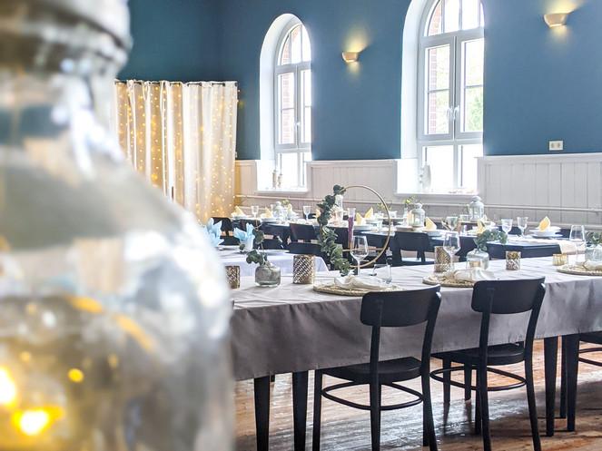 Saal im Gasthof für Feiern