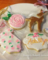 Sweet baby shower cookies_#kingwoodcooki