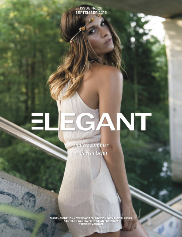 Cover Elegant Magazine