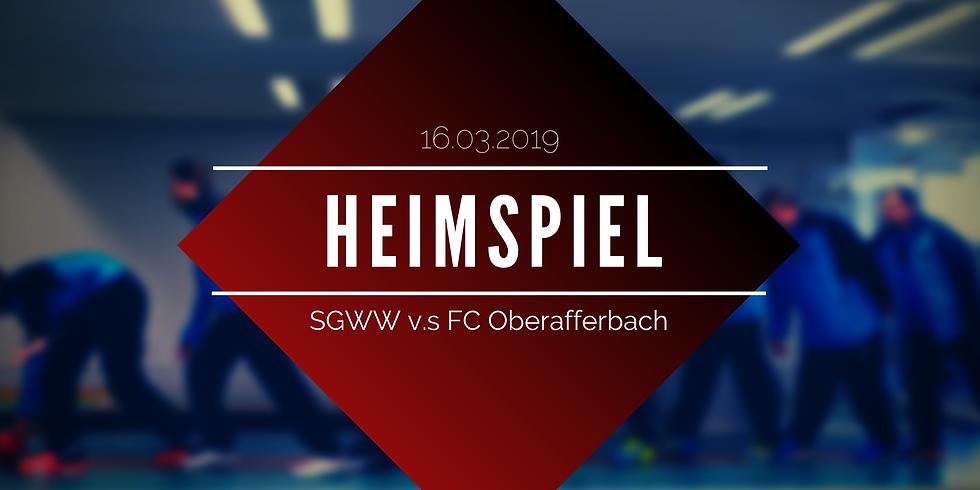 18. Spieltag | SGWW v.s FC Oberafferbach