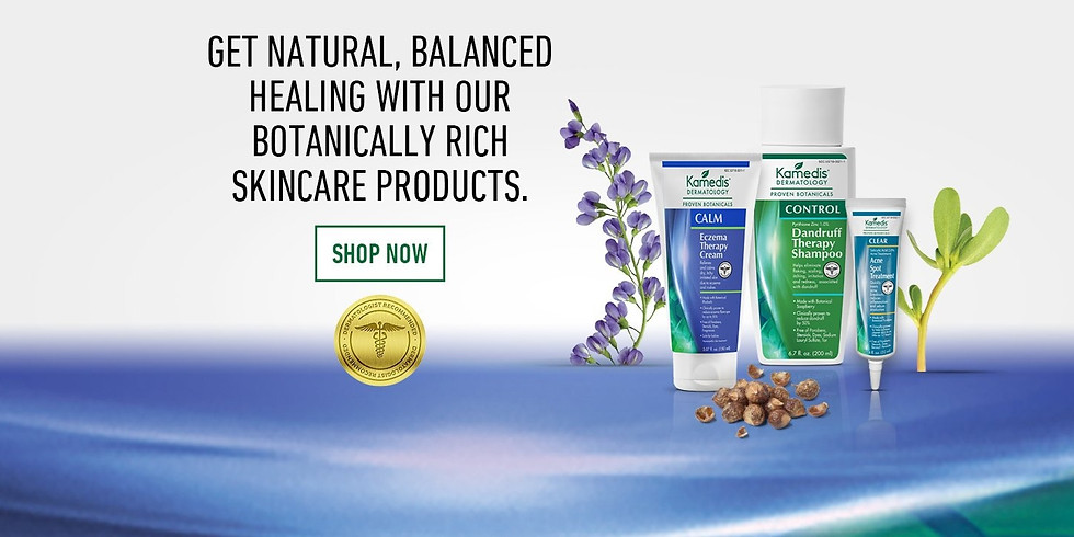 Botanical Skin Care Solution for  Eczema, Acne and Scalp