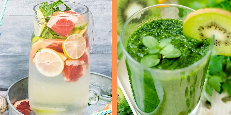 Natural & Personalized Detox Strategies: Do you need a Detox? Let's find out! includes complimentary energy smoothies