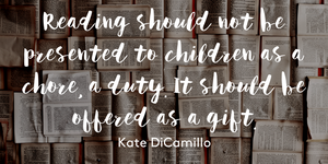 Reading should be offered as a gift. QUOTE