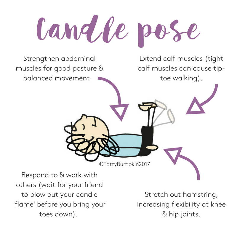 Candle pose benefits