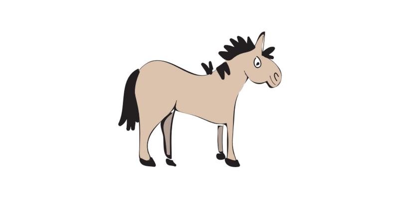 Horse pose blog post header