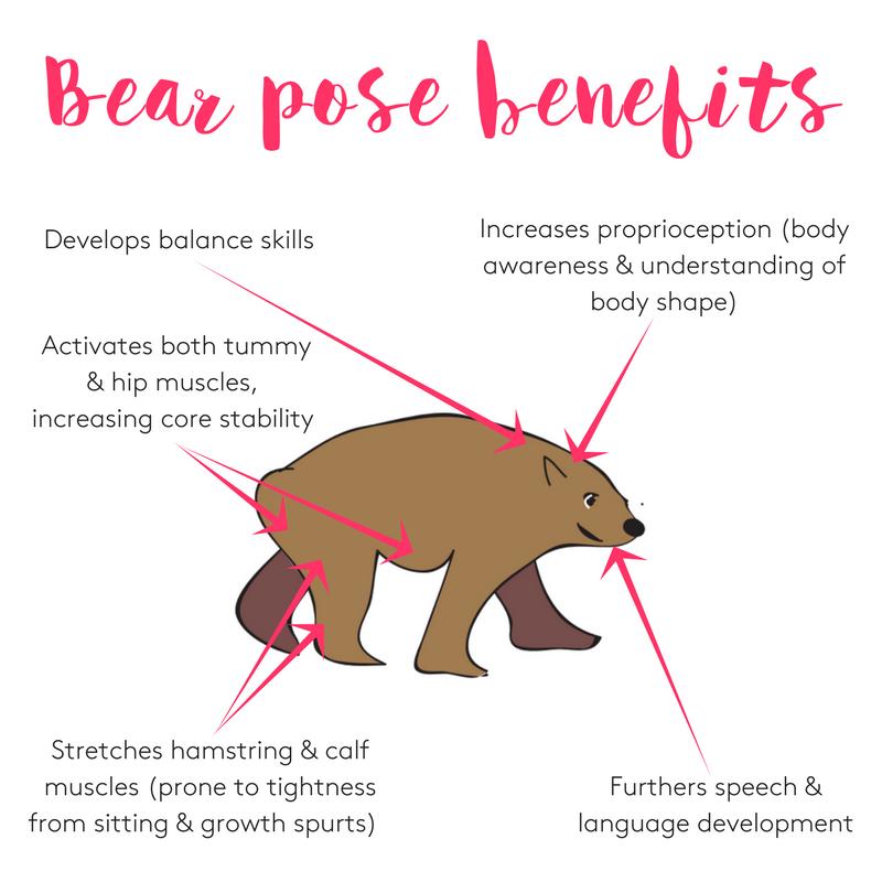 Benefits of bear pose