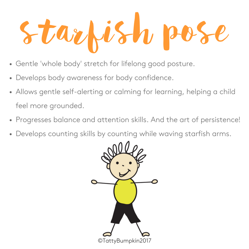 Benefits of starfish pose