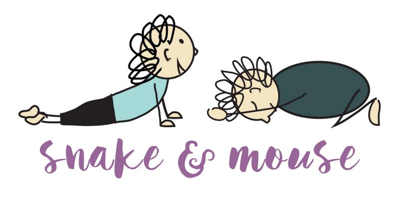 snake & mouse pose