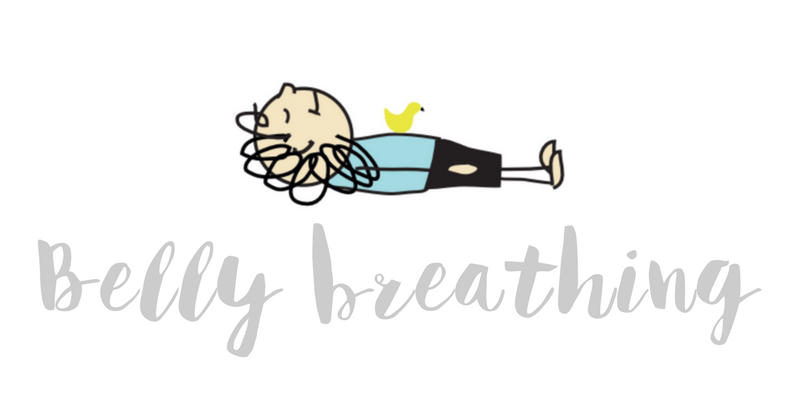 Belly breathing header