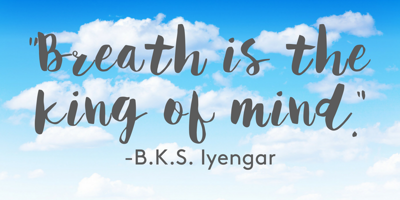 Breath is the king of mind.