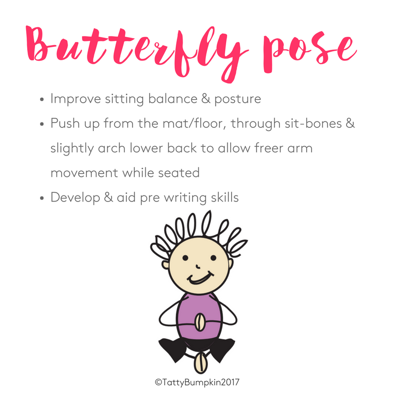 The benefits of butterfly pose