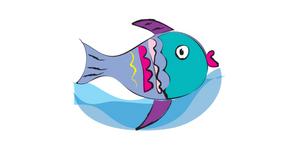 Fish pose blog header