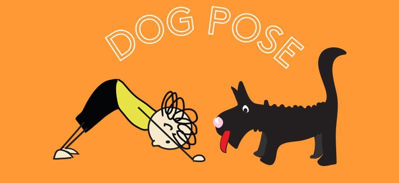 dog pose - yoga pose of the week