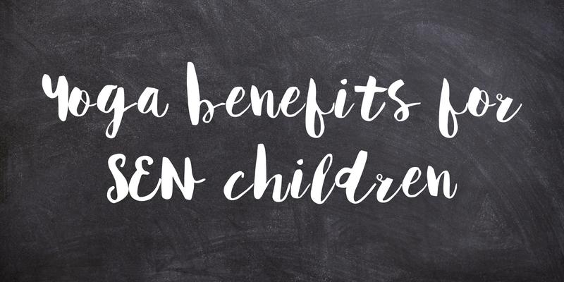 Yoga benefits for SEN Children