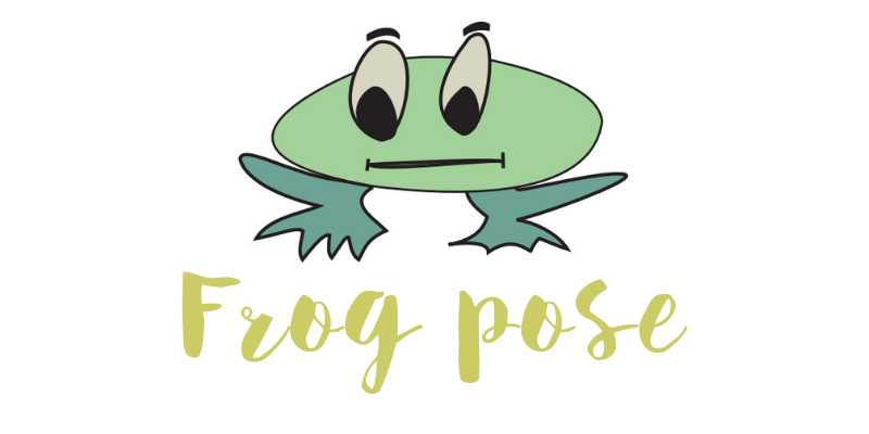 Frog pose blog header
