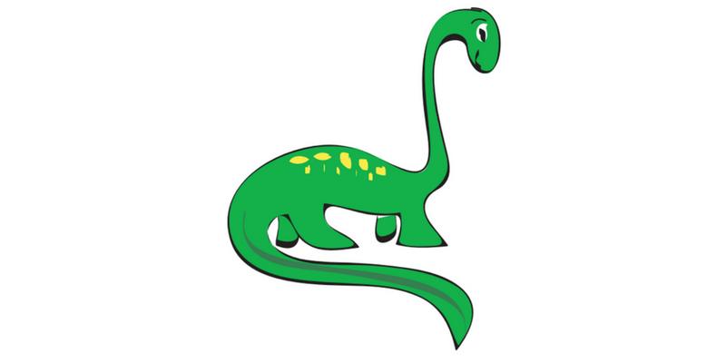 Dinosaur pose blog post header