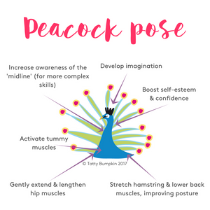 Peacock pose benefits updated