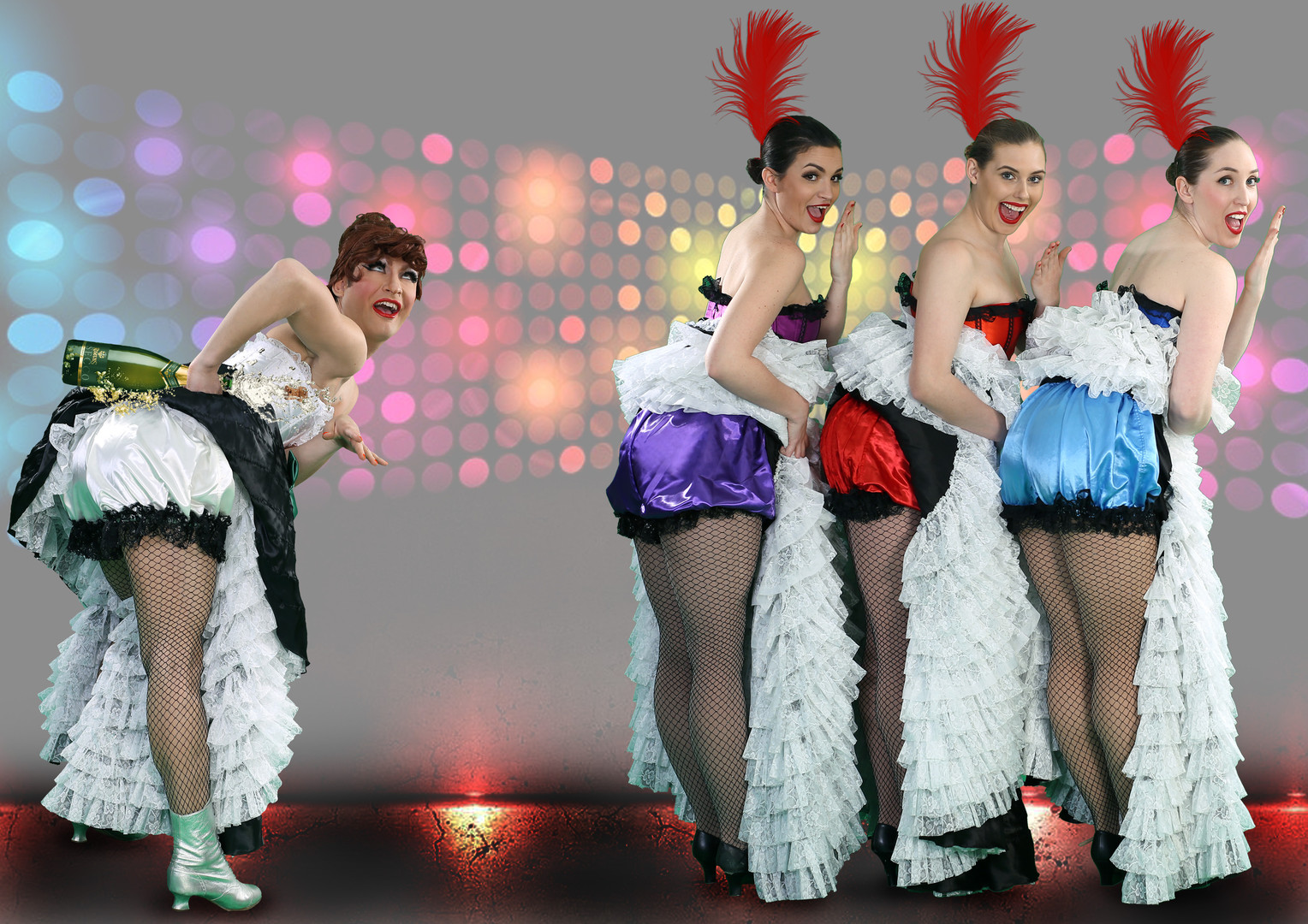 Cheeky CanCan Dancers