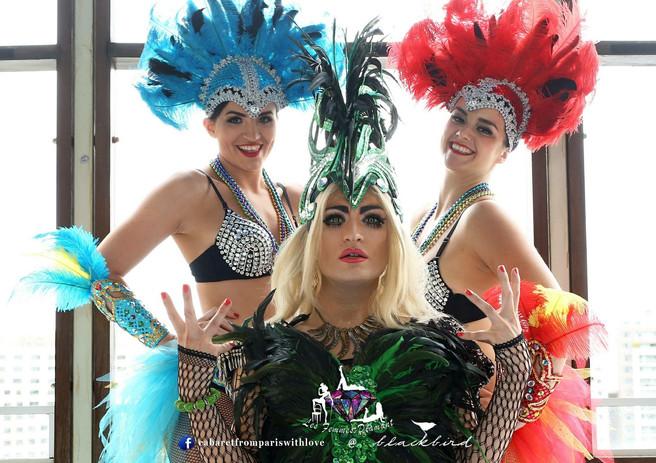 Brazil Dancers with Lady Francesca