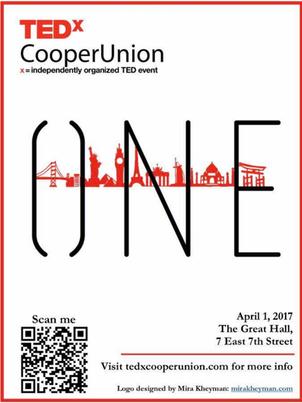 TedxCooper Union Poster
