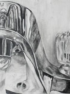 Self Portrait in Faucet