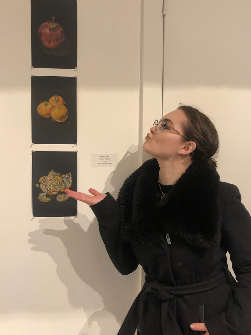 Iridescence exhibition, 2019