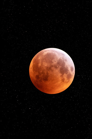 Super Wolf Blood Moon 2019