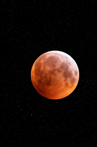 Super Wolf Blood Moon 2019