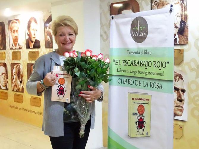 """Presentación del libro """"El Escarabajo Rojo"""" - 3 de Octubre (Barcelona)"""