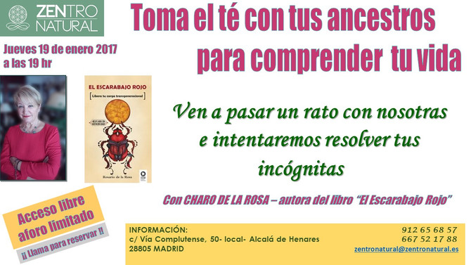 Toma el té con tus ancestros para comprender tu vida - 19 de Enero (Madrid)