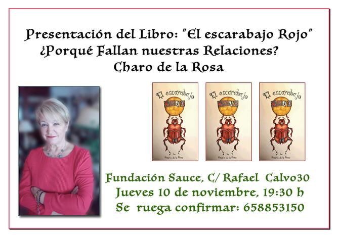 Presentación del Libro: El Escarabajo Rojo - 10 de Noviembre (Madrid)
