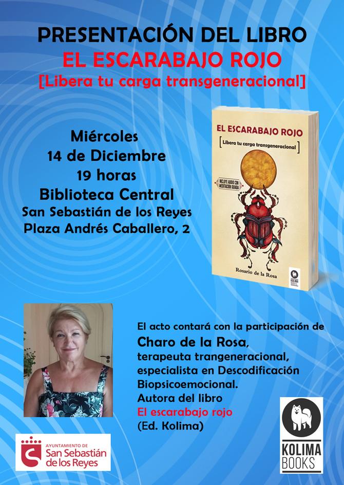 Presentación del Libro: El Escarabajo Rojo - 14 de Diciembre (Madrid)