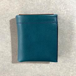 雙折錢包-Ortensia 天藍色-