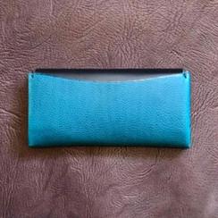 長夾 -Minerva box-Ortensia 天藍色-