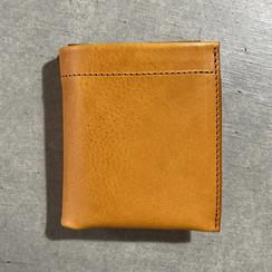 雙折錢包-Napoli 啡黃色-