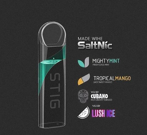 Details about VGOD® STIG AIO 1 2ML DISPOSABLE Vaping Pods Kit 4 Flavors